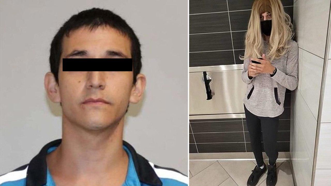 Arrestan a hombre que se vestía de mujer para grabar a jóvenes y niñas en baños