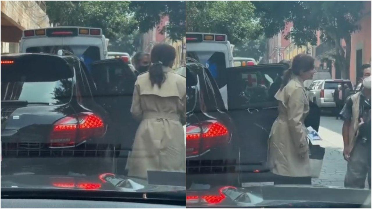 Critican a Lilly Téllez por camioneta Porsche con placas de Morelos para no pagar tenencia