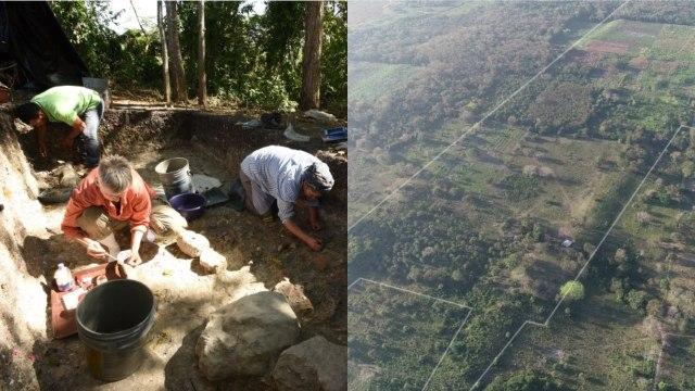 Descubren centros ceremoniales al sur de México con rasgos maya y olmeca