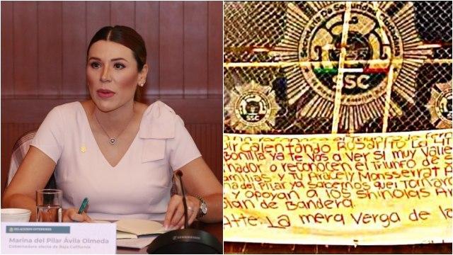 CJNG amenaza a gobernadora electa de Baja California