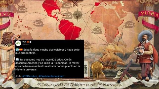 Cristóbal Colón descubre América y se inicia la Hispanidad, la mayor gesta de la Historia de la humanidad.
