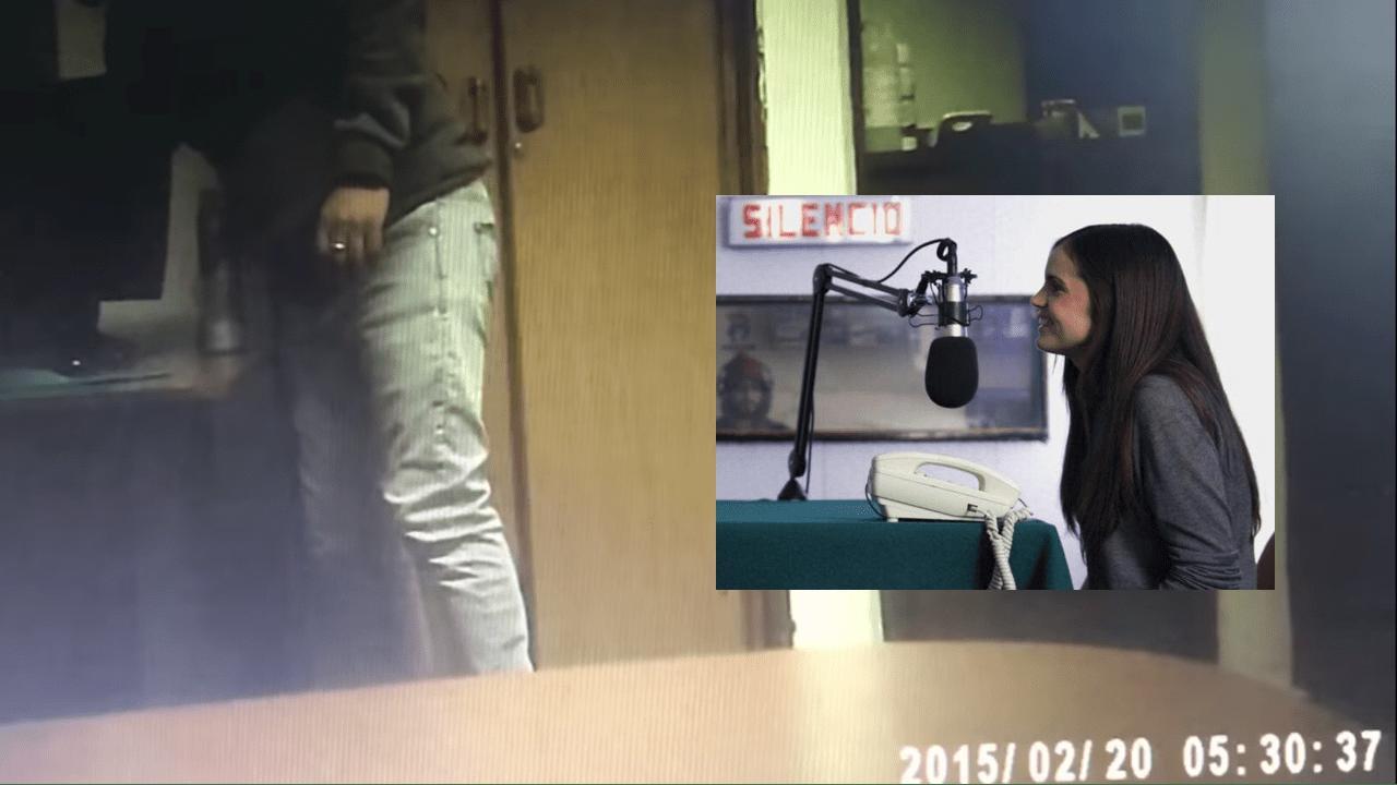 Cayó por su propia cámara: el video que delató a director de TVN acusado de espiar colegas desnudas