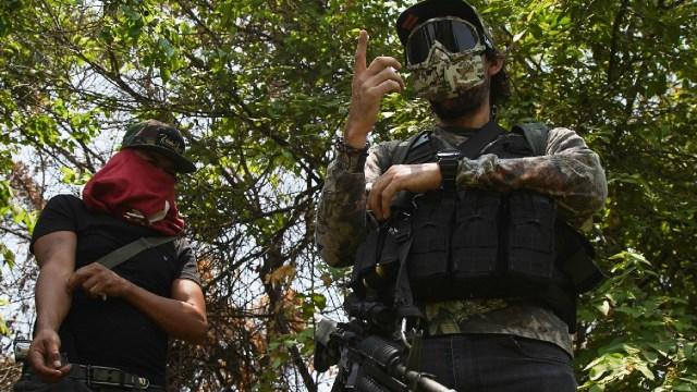 Enfrentamiento CJNG y grupo civil armado