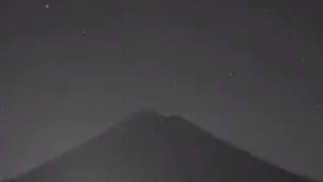 Extraño grito captado en Popocatépetl