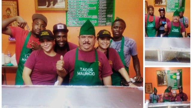 Taquería de Nuevo León le da trabajo a migrantes haitianos