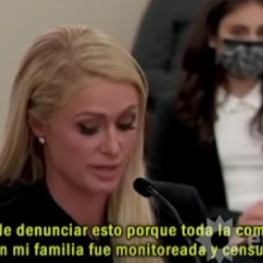 Paris Hilton testimonio abuso internado