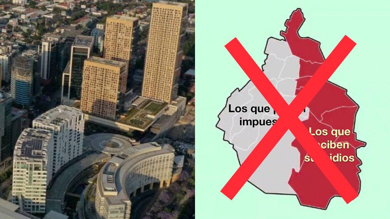 Donde viven mexicanos evasores de impuestos