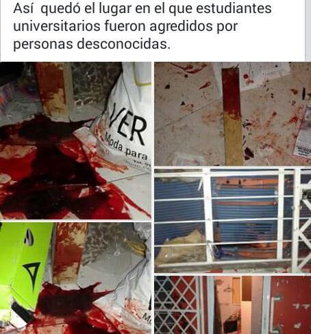Encapuchados llegaron a golpearlos en su propia casa 3 estudiantes están graves