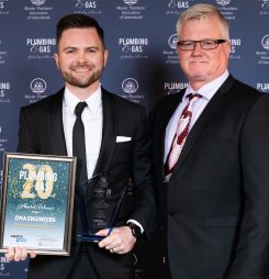 Brisbane Based Company Kick Green Goals to Win Hydraulic Consultant of the Year Award