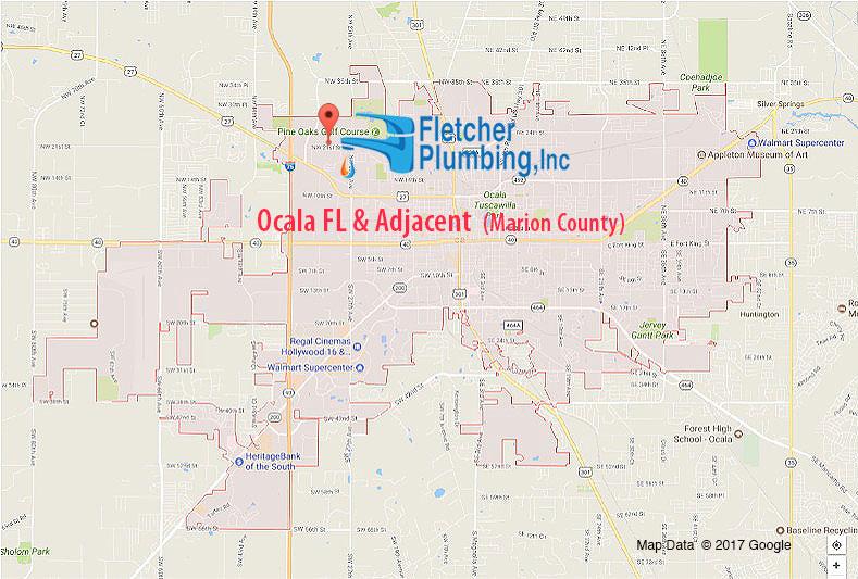 Fletcher Plumbing Office Location Ocala Florida