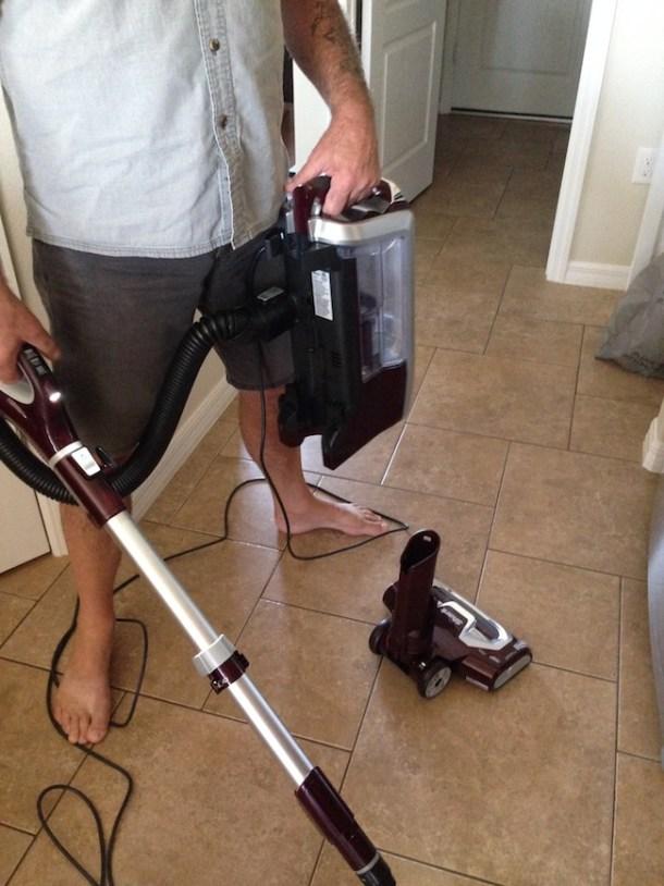 Shark Rotator Powered Lift Away Vacuum Just Plum Crazy