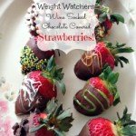 Weight Watchers Friendly Chocolate Covered Strawberries #ValentinesDesserts