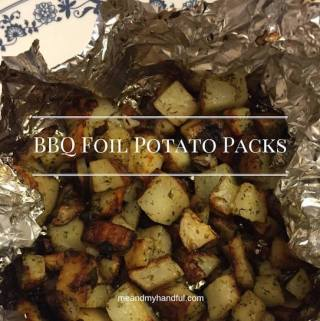 Potato Foil Packs Recipe Day 7 #12DaysOf