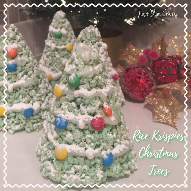 3 Ingredient Rice Krispies Christmas Trees Recipe