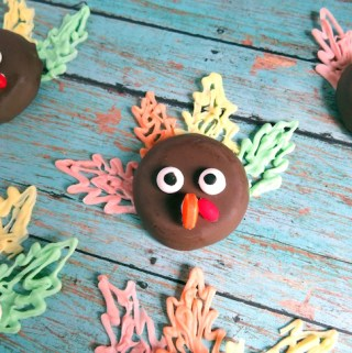 Easy Turkey Cookies Recipe