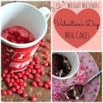 3-2-1 Weight Watchers Valentine's Days Mug Cakes Recipe Day 6 #12DaysOf