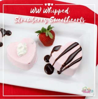 Whipped Strawberry Sweethearts Recipe – 3 WW Smart Points