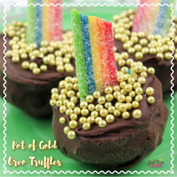 Pot Of Gold Oreo Truffles Recipe