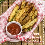 Air Fryer Herbed Crispy Skin Potato Wedges Recipe – WW Smart Points 5