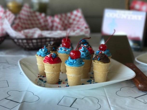 Mini Ice Cream Cone Cupcakes Recipe