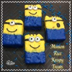 Minion Rice Krispy Treats Recipe