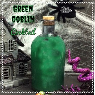 Ghoulish Green Goblin Halloween Cocktail Recipe
