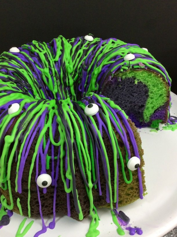 Witches Brew Halloween Bundt Cake Recipe Just Plum Crazy