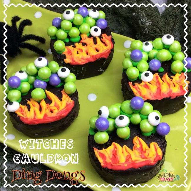 Witches Cauldron Cupcake Recipe