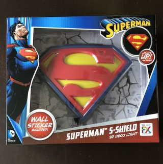 Superman Shield 3DLightFX
