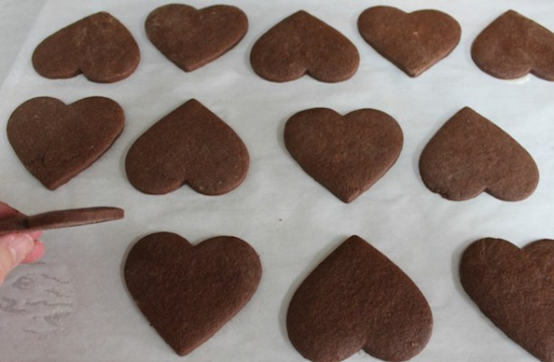 Coffee liqueur icing adds a unique flair to these adult Valentine's Day cookies. The rich flavor and classyappearance will be appreciated – and so will your efforts with these Kahlua Mocha Heart Cookies recipe.