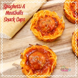 Spaghetti and Meatball Snack Cups Recipe