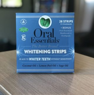 Oral Essentials Teeth Whitening StripsReview