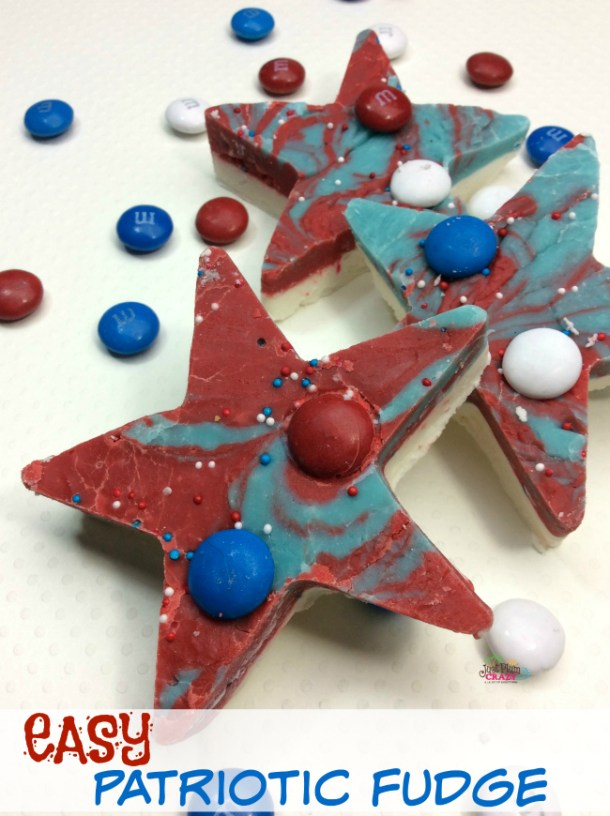 Head out to the local park with a picnic basket in hand for the 4th of July. The Patriotic Fudge Recipe is perfect to take with you.