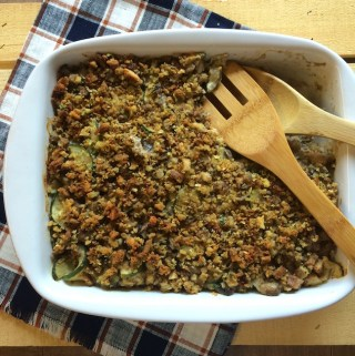 The Garden Veggie Zucchini Squash Casserole Recipe is filled with all your favorite summer veggie, and is the perfect dish for picnics or potluck dinners.