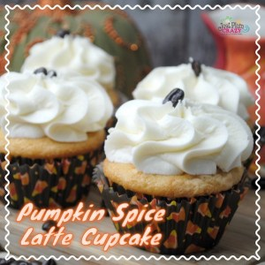 Pumpkin Vanilla cupcake with a touch of Pumpkin Spice rolled into one Pumpkin Spice Latte Cupcake! You will FALL in love with our best cupcake recipe.