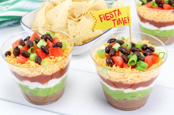 TheGhost Pepper Salsa Mexican Layer Dip Individual Cups Recipe is super easy. Now is the time to stock up on Mrs. Renfro's Ghost Pepper Salsa.