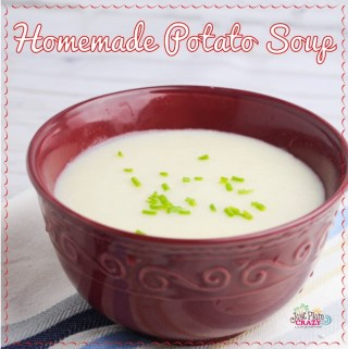 With the taste of bacon, onion and potatoes, theYummy Homemade Potato Soup Recipe is perfect for the cold weather or Christmas Eve Wigilia dinner.