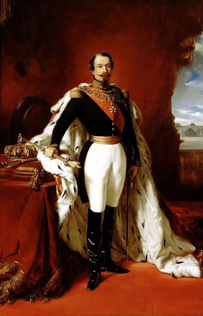 Napoléon III en pied par Franz-Xaver-Winterhalter