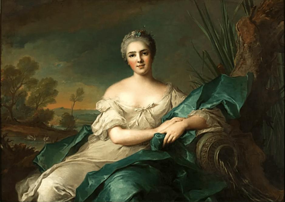 Madame Victoire de France, L'Eau, peint par Jean-Marc Nattier