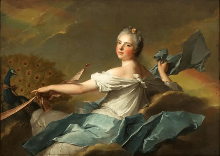 Madame Adélaïde : L'Air, peint par Nattier