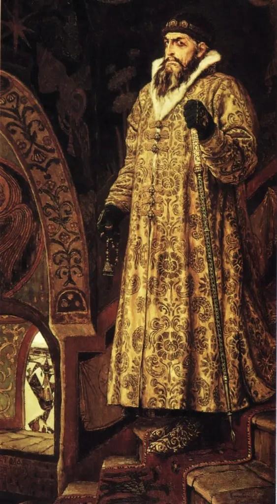 Le Tsar Ivan le Terrible par Victor Mikhailovich Vasnetsov, 1897
