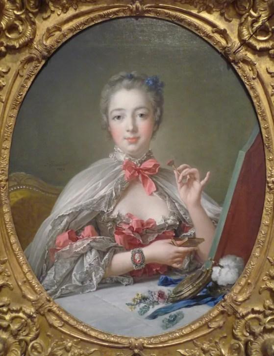 Madame de Pompadour peinte par François Boucher vers 1750