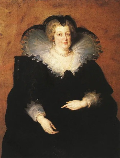 Marie de Médicis en 1622 par Rubens – Huile sur toile
