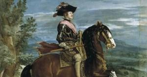 Philippe IV à cheval – Velasquez
