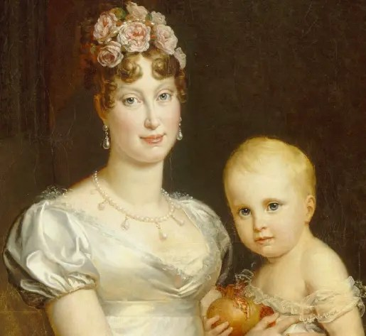 impératrice marie-louise et son fils
