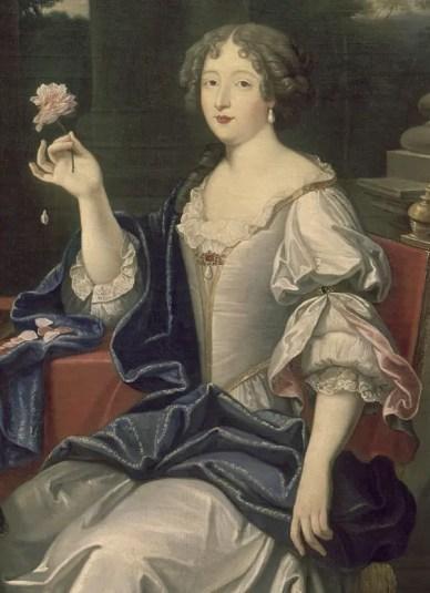 Louise de La Vallière par Pierre Mignard (détail) - Musée du château de Versailles