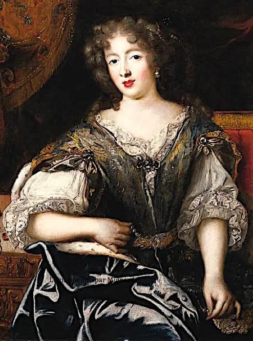 Louise de La Vallière peinte par Pierre Mignard