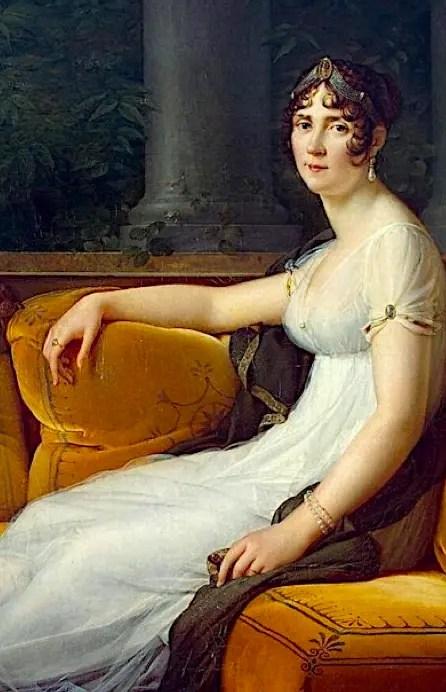 Mme Joséphine Bonaparte vers 1800, peinte par François Gérard