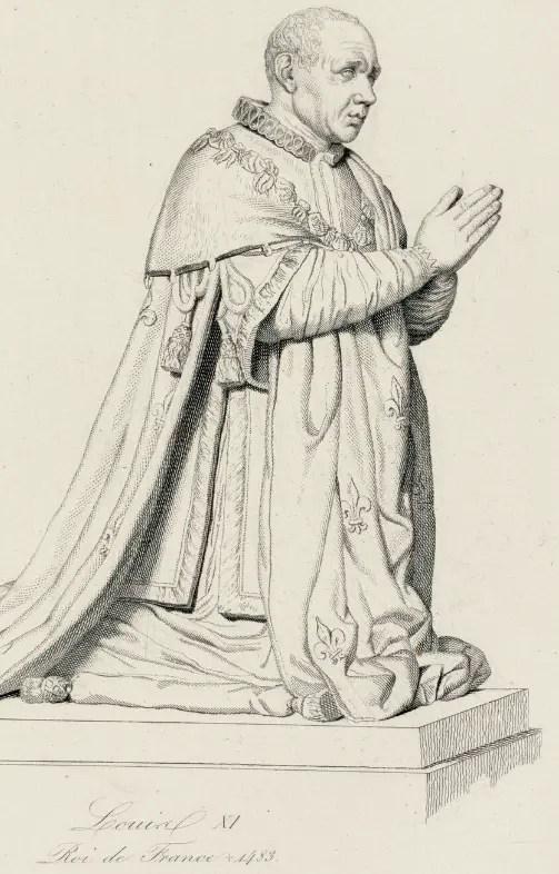 Louis XI, estampe - Musée du château de Versailles