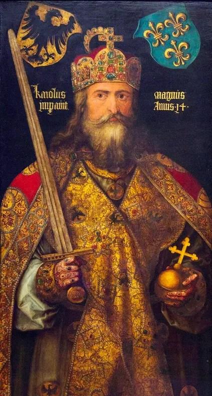 L'un des plus célèbres portraits imaginaires de Charlemagne, par Albrecht Dürer